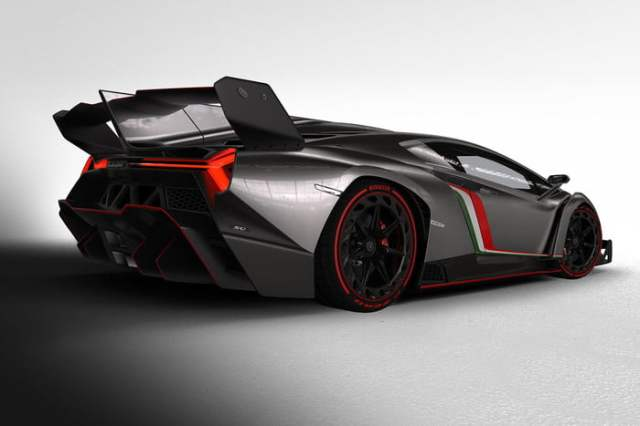 lamborghini-veneno back side