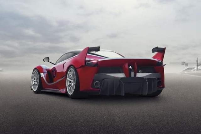Ferrari LaFerrari FXX Backside