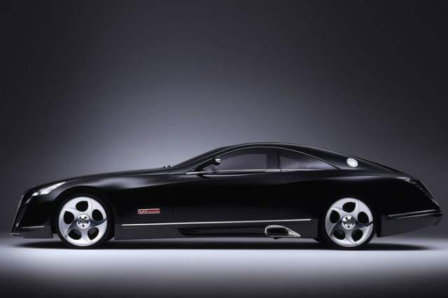 MERCEDES-BENZ MAYBACH EXELERO Black Side View