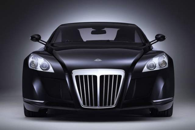MERCEDES-BENZ MAYBACH EXELERO Front