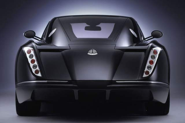 MERCEDES-BENZ MAYBACH EXELERO Back View