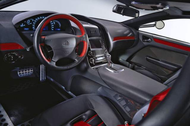 MERCEDES-BENZ MAYBACH EXELERO Dashboard