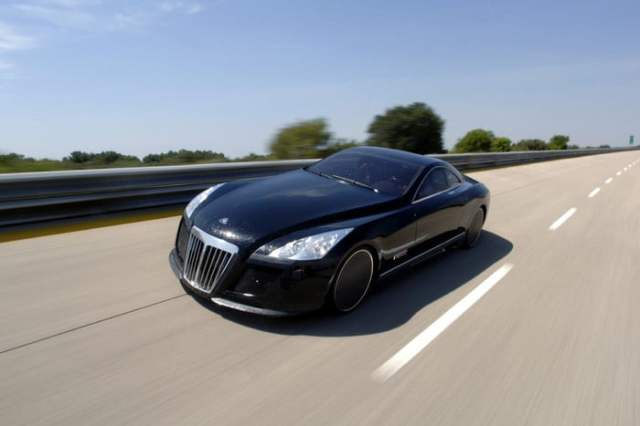 MERCEDES-BENZ MAYBACH EXELERO Racing