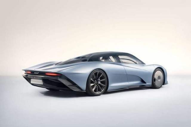 McLaren Speedtail Grey