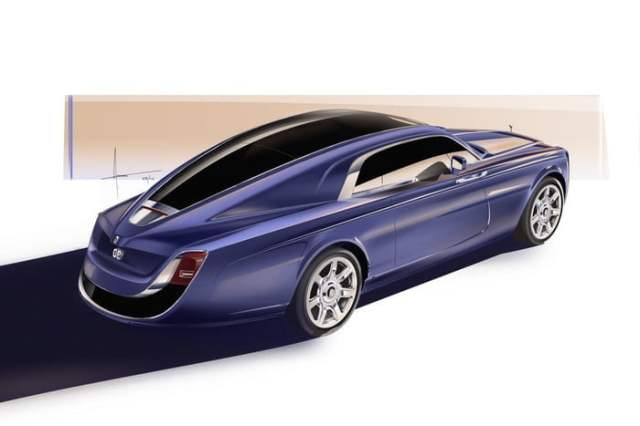 Rolls-Royce-Sweptail-Side View