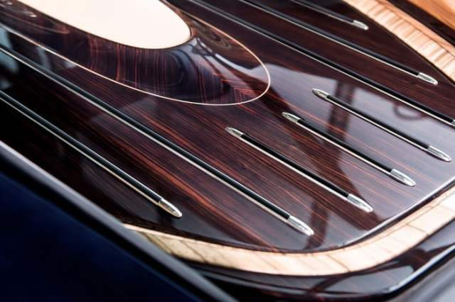 Rolls-Royce-Sweptail Wooden Interior