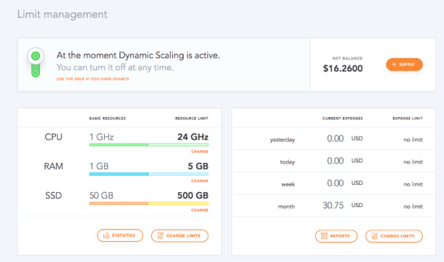 Live data - dhosting
