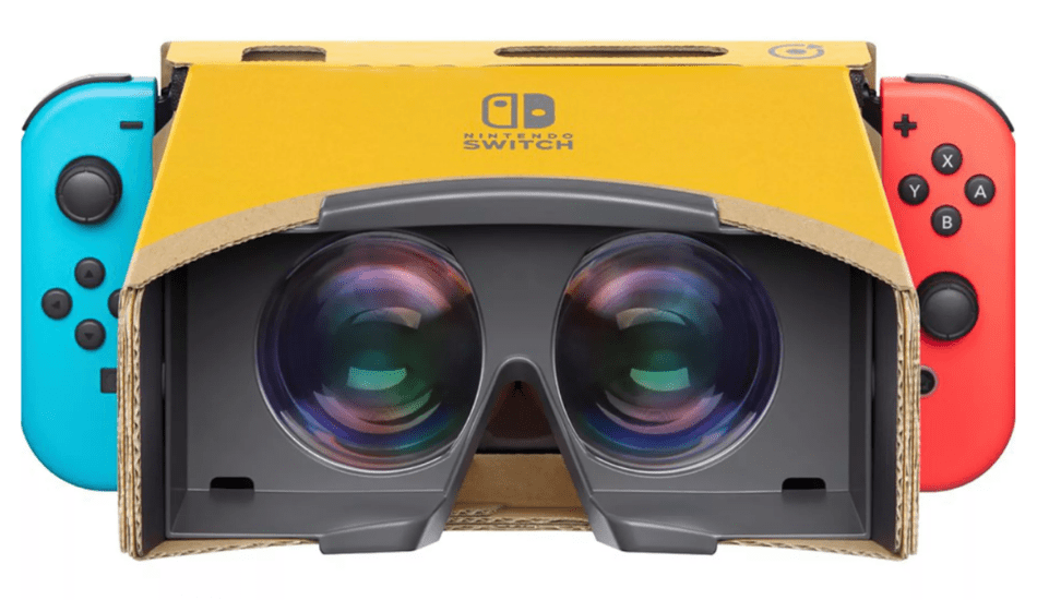 Nintendo's new Labo VR Kit brings virtual reality to the Switch