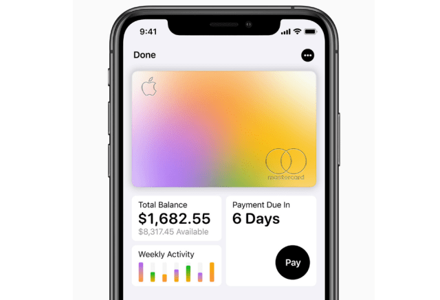 Apple Credit Card Balance, Purchase and Transaction History