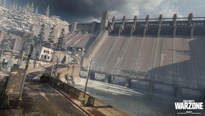Call of Duty Warzone Verdansk Dam