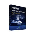 AOMEI Partition Assistant Professional Edition Software Image