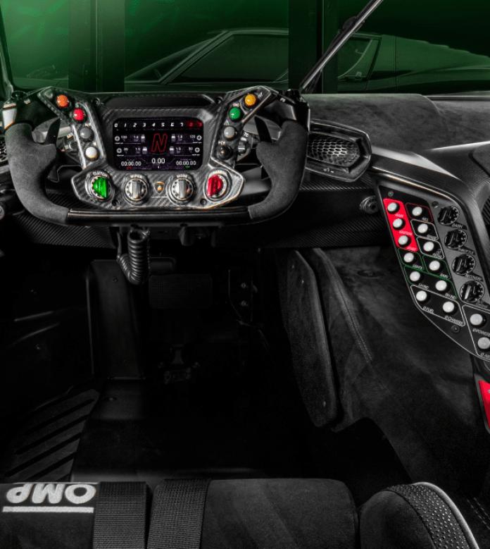 Lamborghini Essenza SCV12 Cockpit Image