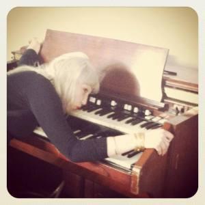 Holiday Sidewinder organ love