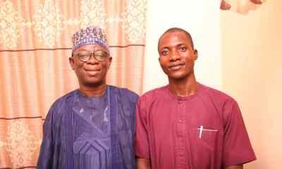 The Toto LG political leader, Speaker, Nasarawa State House of Assembly, Rt. Hon. Ibrahim Balarabe Abdullahi and his loyal political godson, Yahaya Idris Toto