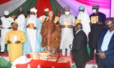 FCT Minister of State, Dr. Ramatu Tijjani Aliyu (M), traditional rulers and other critical stakeholders in the Territory.