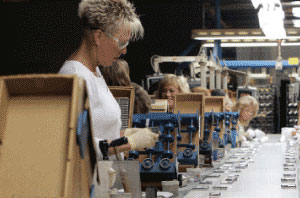 Zippo's manufacturing plant in Bradford, Pennsylvania.