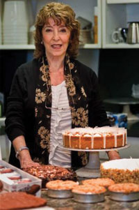 Founder Susan Axelrod. Using flash-freezing techniques, Andy Axelrod says even after a full year, his Love and Quiches cheesecakes taste fresher than mid-day bread from the local bakery.