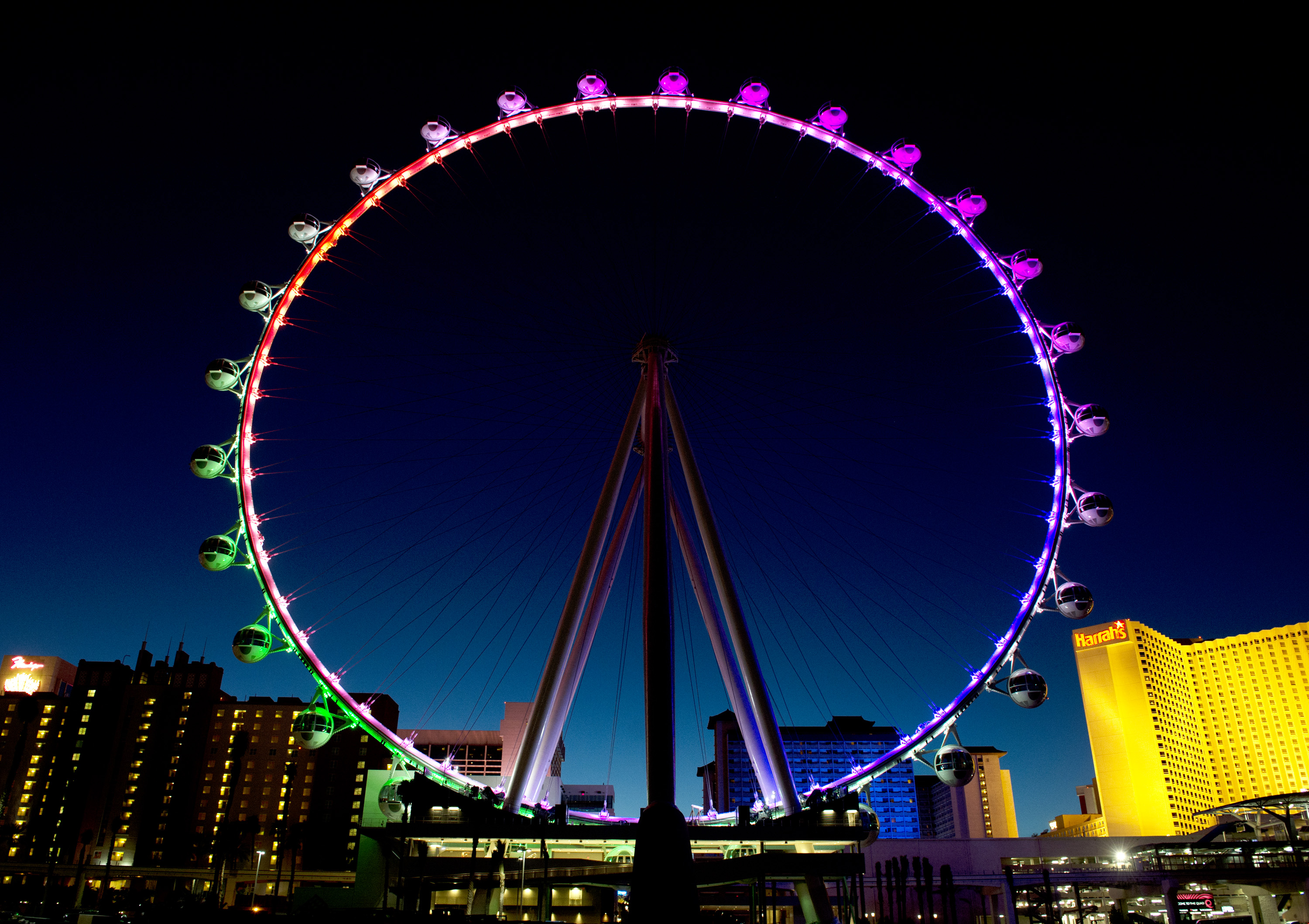New Wheel Sky Las Vegas Ferris