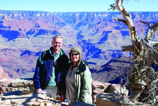 Member Ron P. captures the vast expanse of the Grand Canyon.