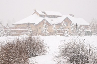 Charles W. - Perfect snowfall capture in Frisco, Colorado.