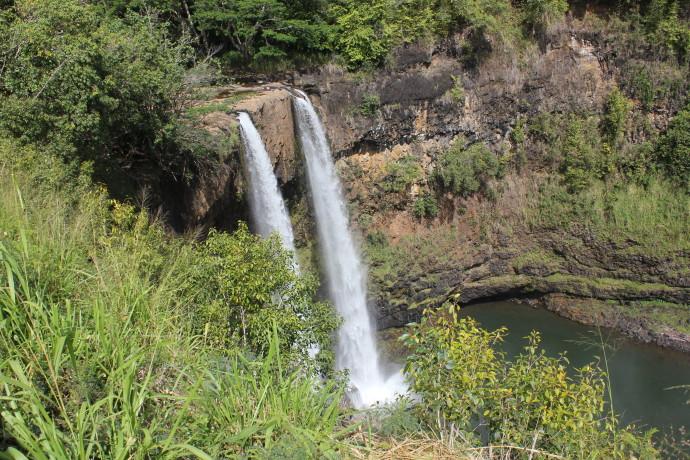 Opaekaa Falls.