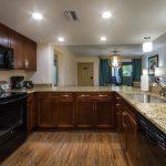 Spacious floor plan in a 1-bedroom deluxe villa offers great space.