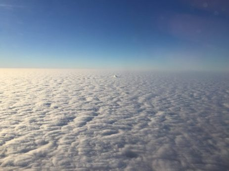 """It's not the arctic tundra, they are clouds!"" - Member Jon H."