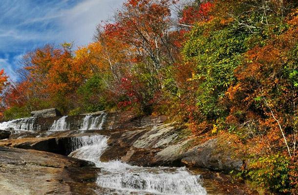 Fall Vacation - Brevard, North Carolina