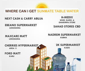 SunMate Table Water