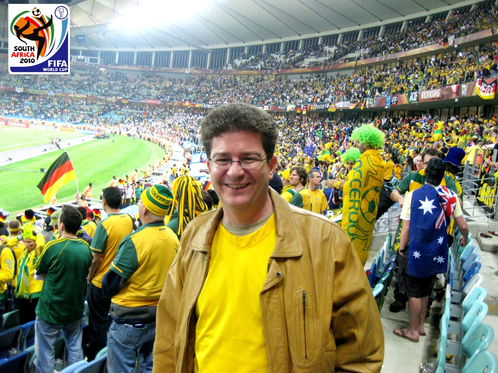 Tim at World Cup 2010 in Africa