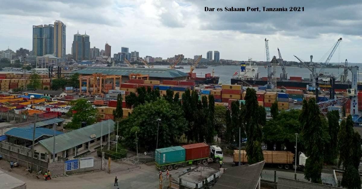 Dar es Salaam Port, Tanzania 2021