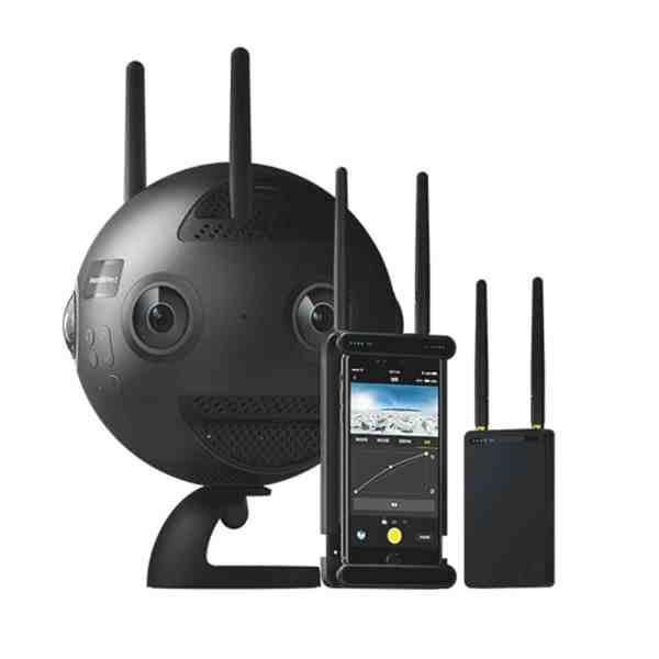 Insta360 Pro 2: Location caméra 360°