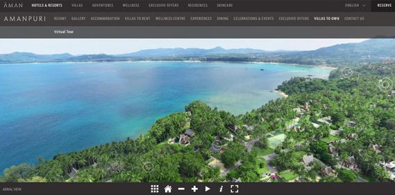 360° virtual tour of Amanpuri