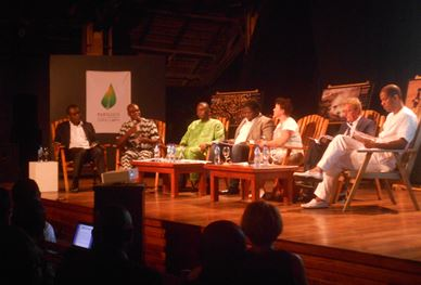 Conference on Climate Change in Cotonou, Benin - via the author with her permission