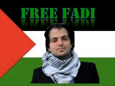 Palestinian youth activist and Stanford alumnus, Fadi Quran. Photo by Jeff Mendelman. Used with permission.
