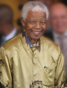 Nelson Rolihlahla Mandela was the first democratically elected president of South Africa. Photo released by South Africa The Good News under Creative Commons (CC BY 2.0).