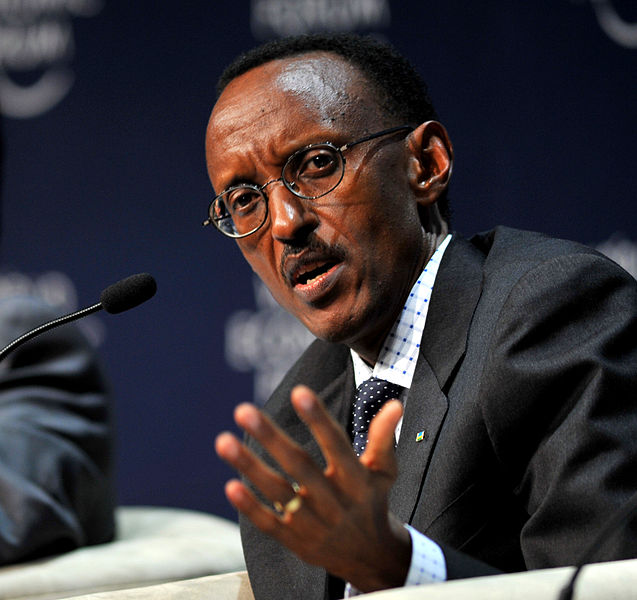 -Paul Kagame, President of Rwanda at the World Economic Forum on Africa 2009 in Cape Town, South Africa- via wikipedia cc-license-2.0