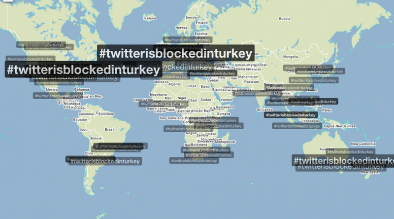 How the world saw Turkey's Twitter ban. Widely shared.