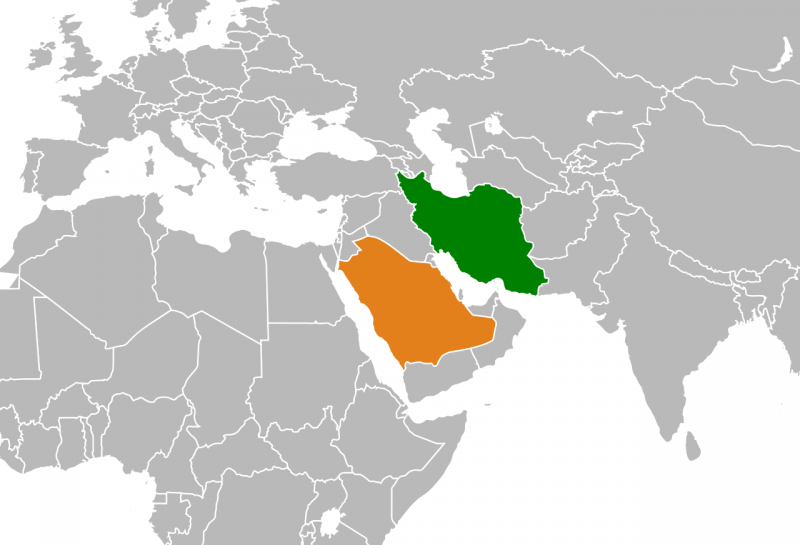 Iran and Saudi Arabia have long challenged each other for geopolitical influence in the region, most recently during the 'proxy war' in Yemen. Wikimedia image.