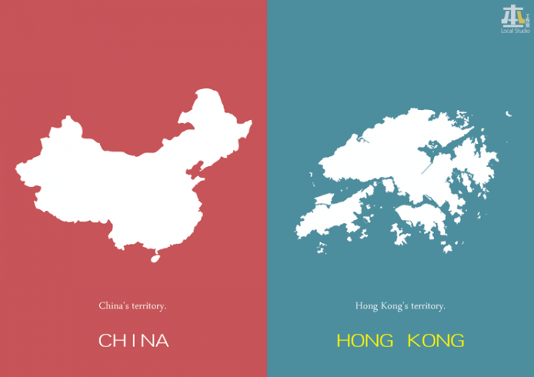 China and Hong Kong territories.