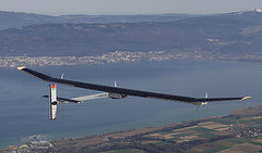 Looking Up Helps Create History for Swiss Aeronautical Team – Solar Powered Aircraft Takes Flight