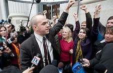 Activist Tim DeChristopher Convicted on Two Felony Counts
