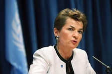 UNFCCC Chief Says Two Degrees is Not Enough