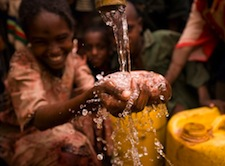 Children now have access to safe, clean water in Ethiopia