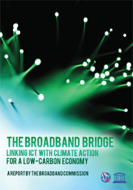 Broadband Report Highlights ICT's Role in Low-Carbon Economy Transformation