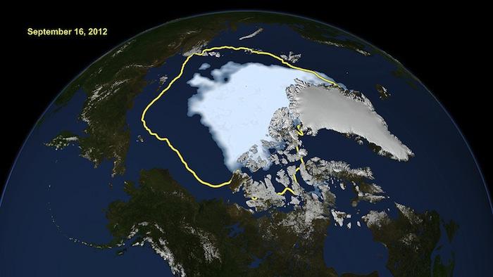 Video Friday: Arctic Sea Ice 2012