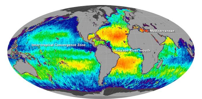 Scientists are Concerned about Mysterious Rise in Ocean Salinity