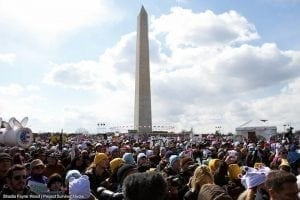 Over 35,000 strong on the National Mall for the Forward on Climate Rally