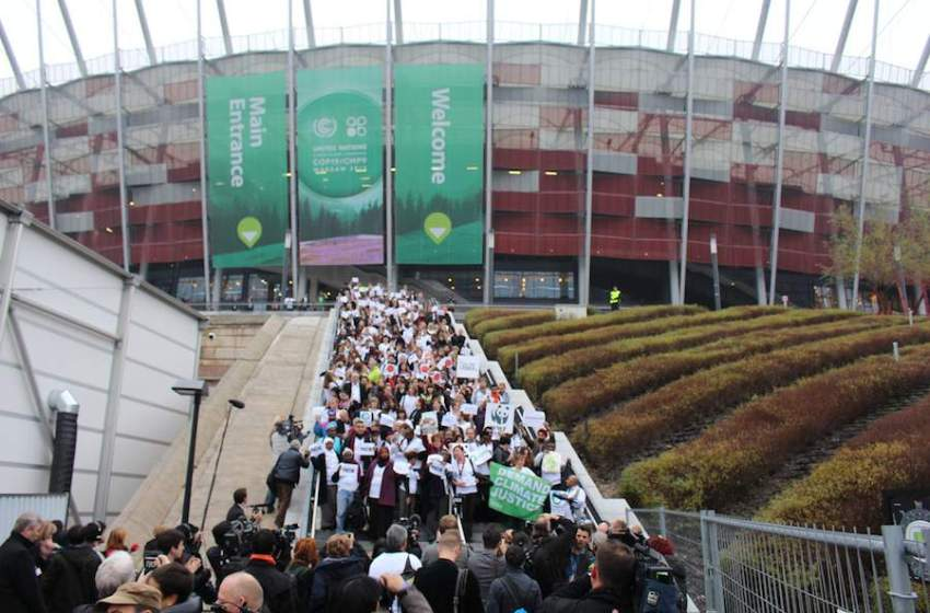 Civil Society Walkout as COP19 Comes to Disappointing Conclusion