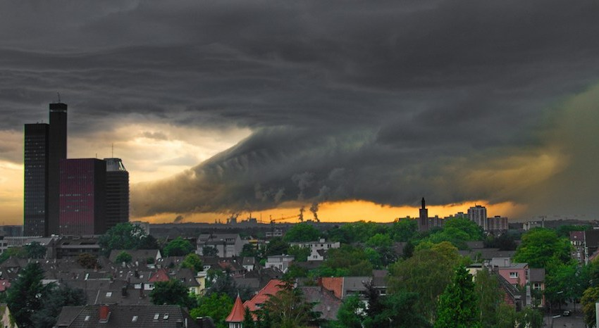 Extreme Weather and Existential Reflections on Life in the Anthropocene